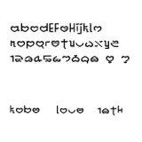 オリジナルお名前シール-英フォント(12)